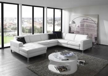 Xxl lederen leefhoek hoekbank met lounge nu 1650 schijndel marktgigant - Meubilair loungeeetkamer ...