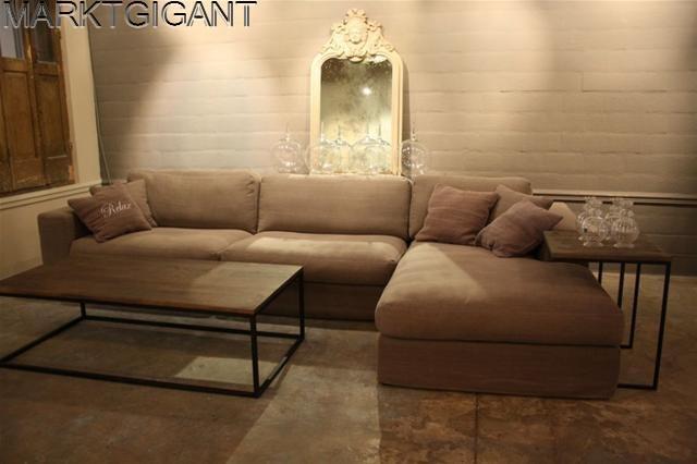 Prachtige lounge bank in landelijke stijl nu 1195 schijndel marktgigant - Moderne lounge stijl ...